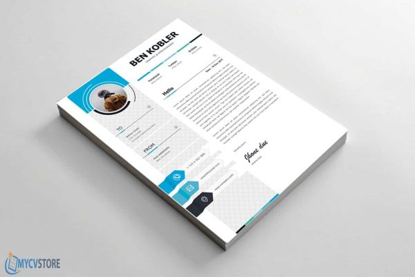 Clean & Professional Cover Letter