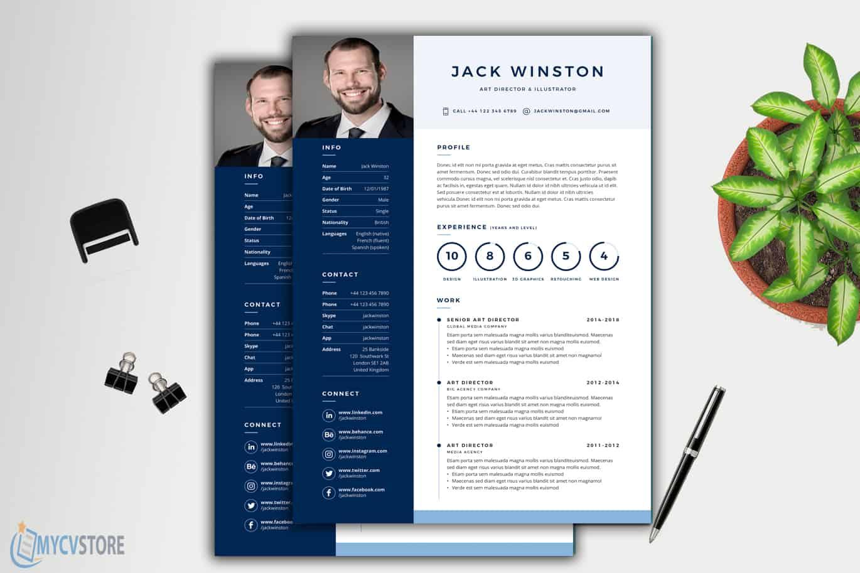 Printable-Clean-Resume1