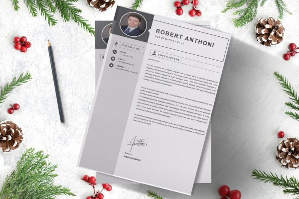 Computer Cover Letter Word Format template