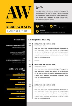 Marketing Officer Resume Sample Word Downloadable