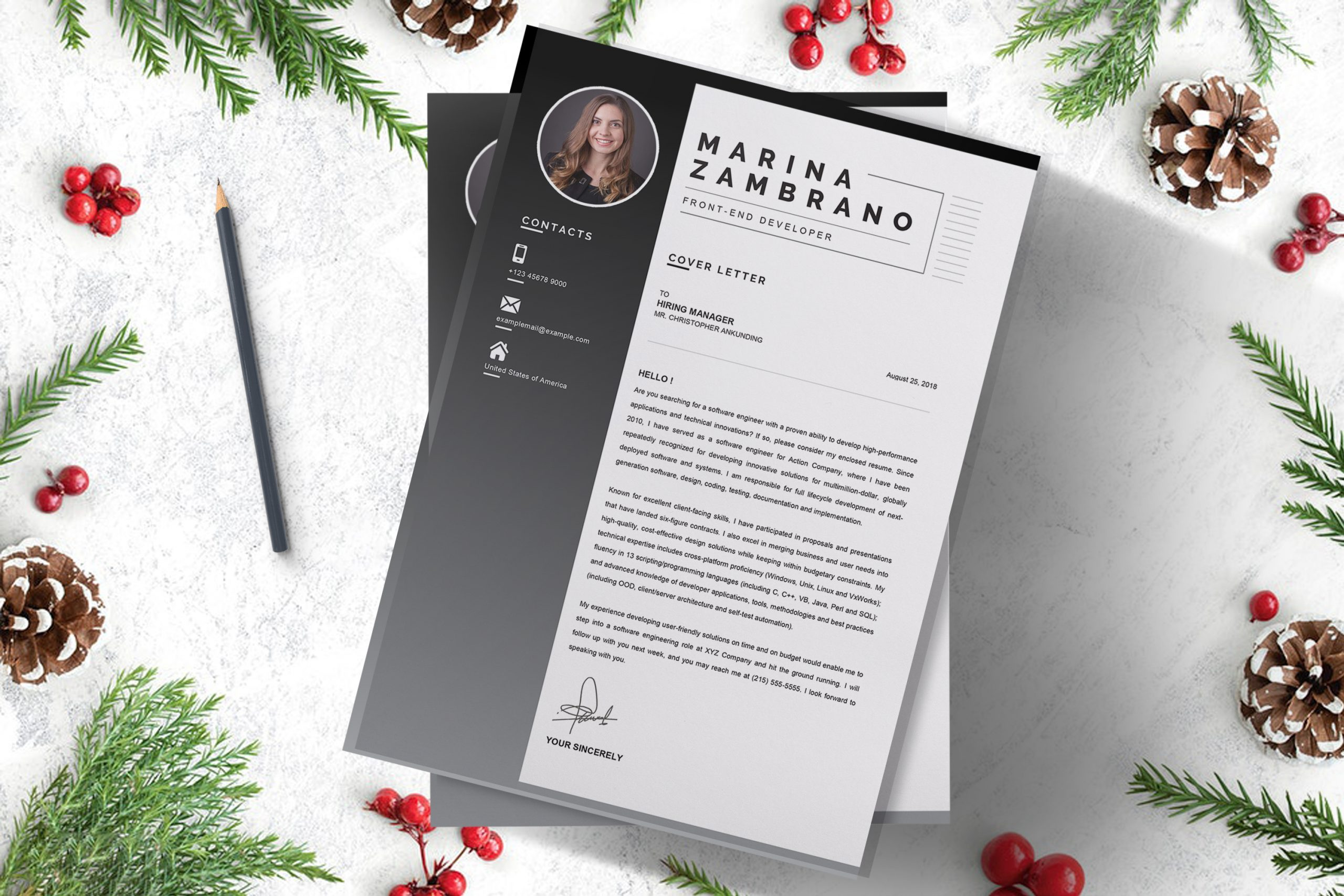 Cover Letter Example Word Format to Work On