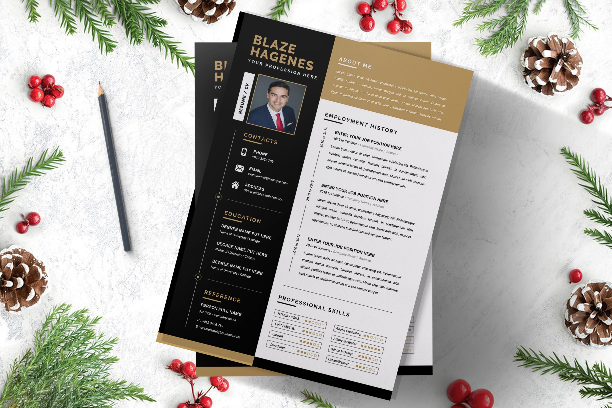 Clean-Agricultural-Resume-Template-to-download-3