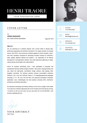 Sample Cover Letter Word Format for Student Job