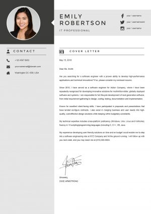 Finance Manager Cover Letter Sample for Word