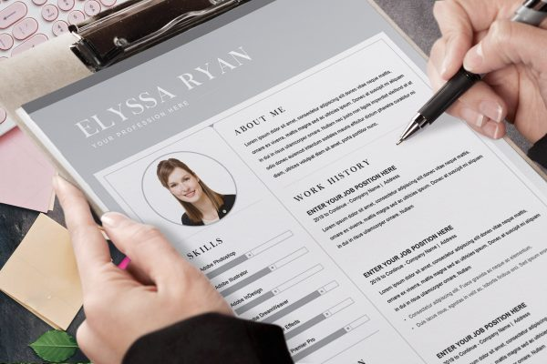 Example of Anonymous CV Word Format