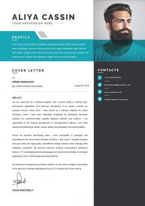 Detailed Cover Letter Word Format Template