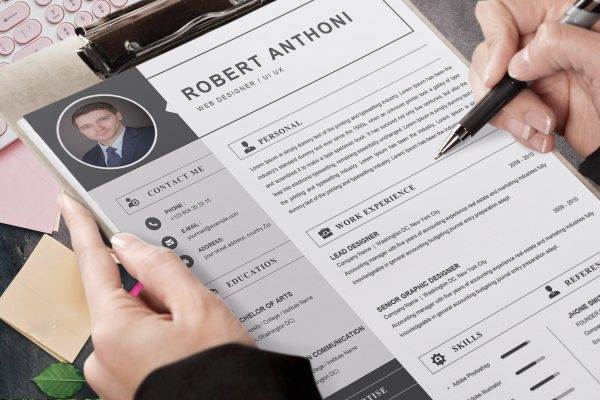 Computer Resume Template Word Format to Download