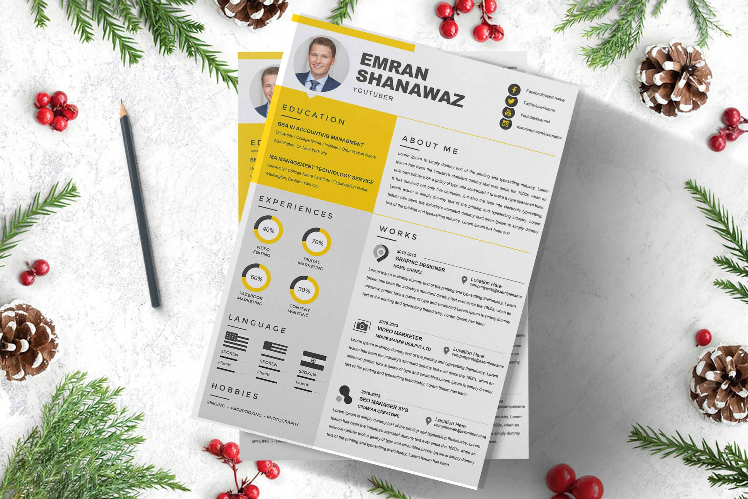Professional-HR-Management-Resume-Template-3