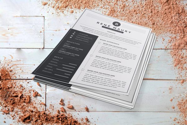 Sample CV on Word Format 2 pages