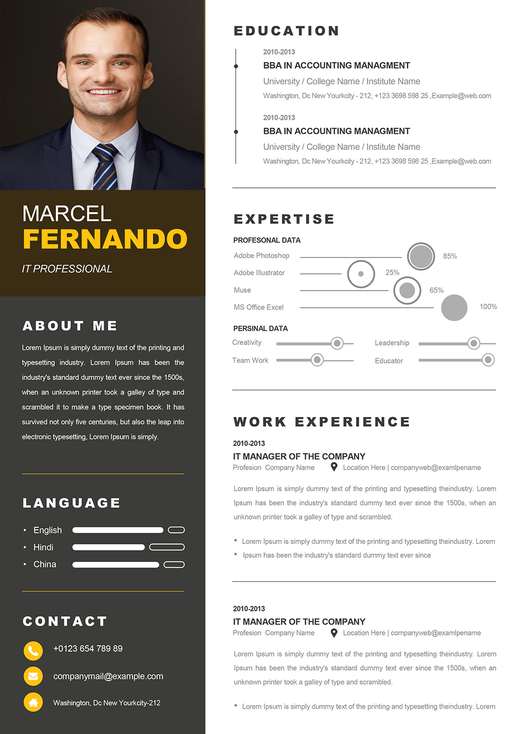 Professional-Web-Developer-Resume-Template-1 One Page Resume Format Docx on cover letter sample, cover letter example, templates for students, format for bsc students, sample production worker, templates free download, third party risk management,