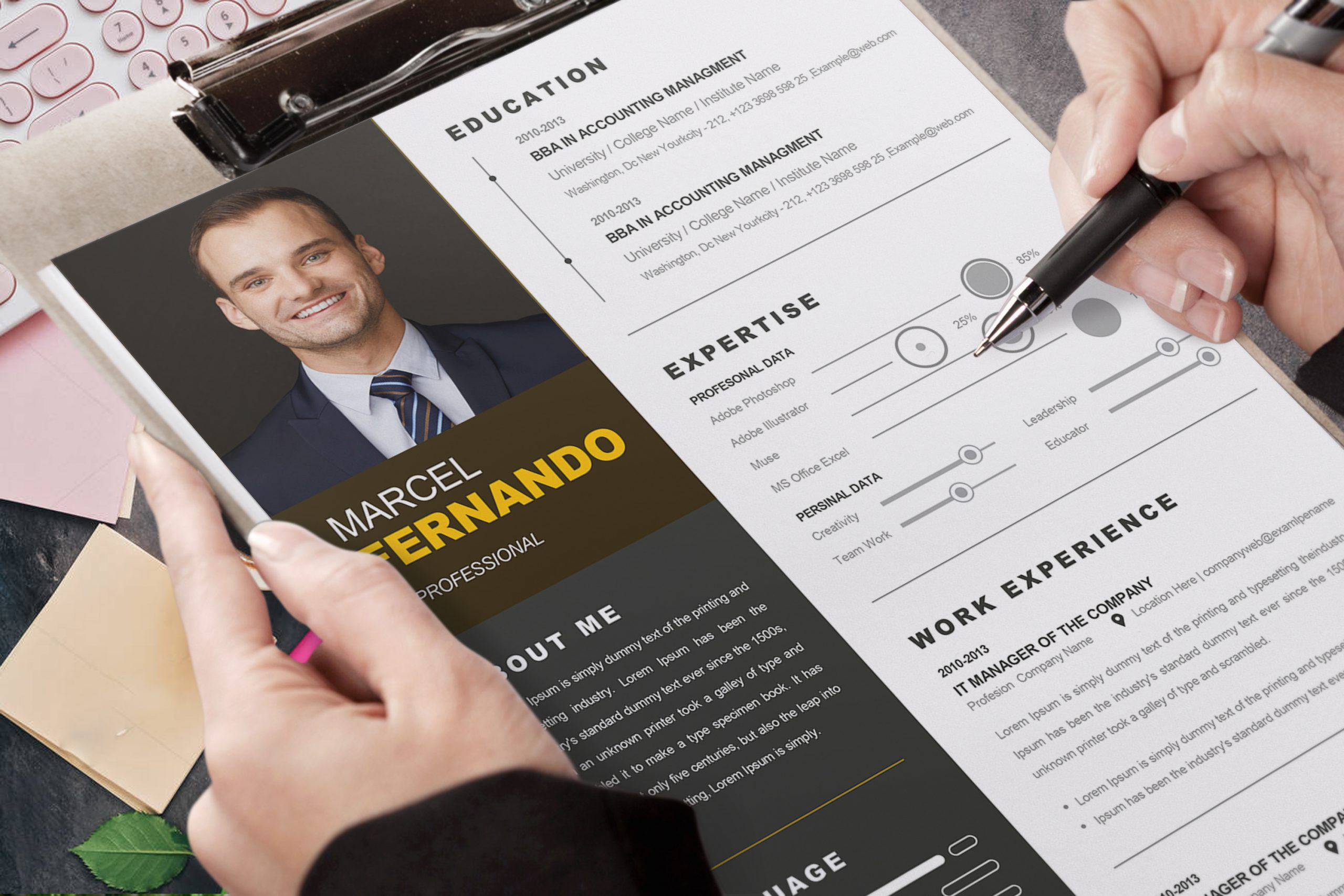 Professional-Web-Developer-Resume-Template-4