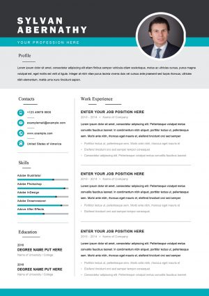 CV Design word format to Download