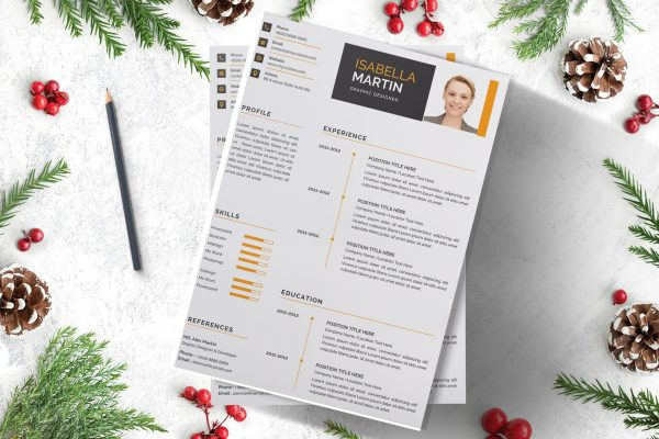 Clean CV Design Template