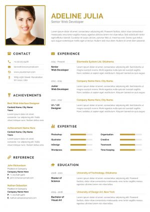 Commercial CV Example