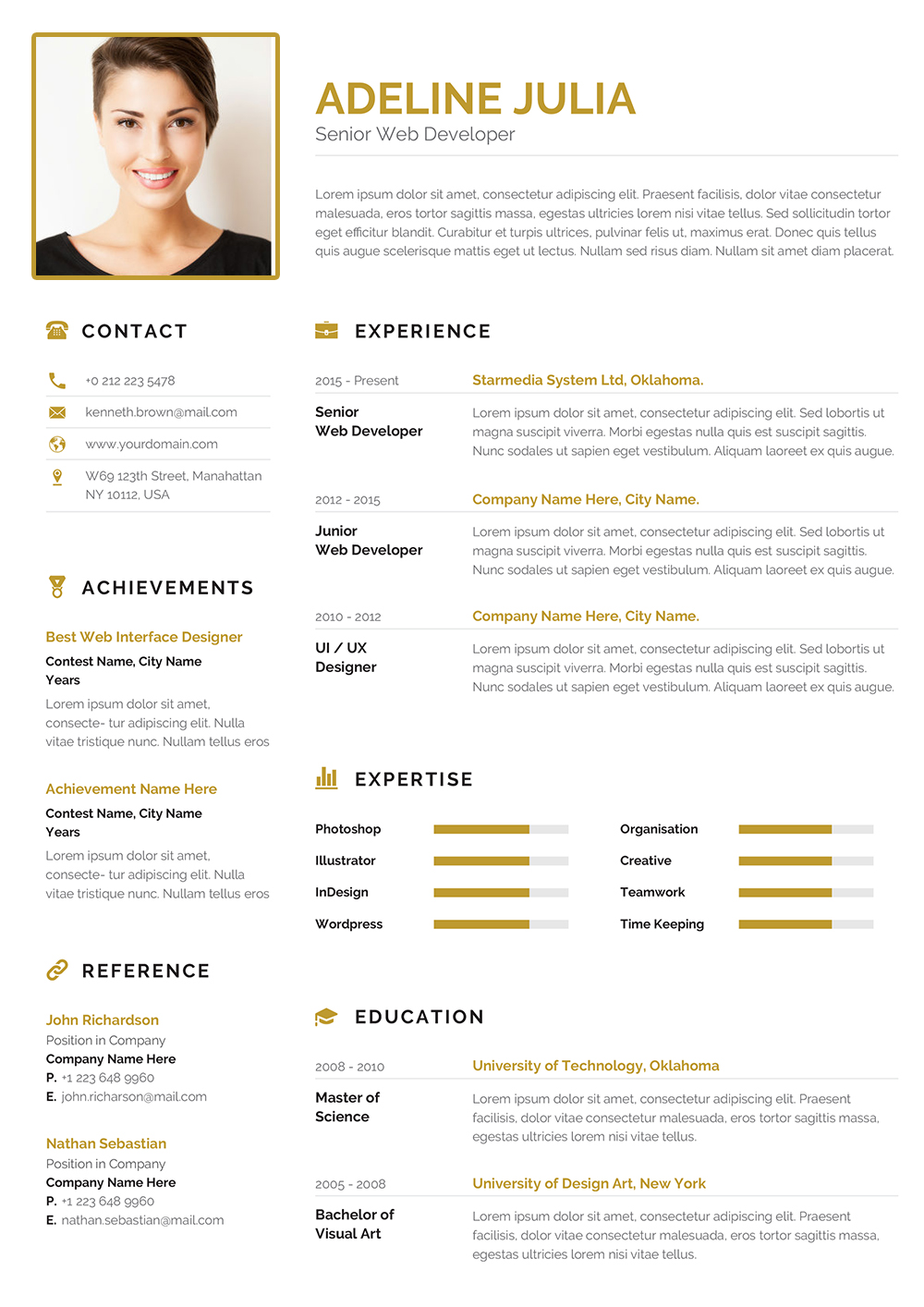 modern commercial cv word example to download  commercial