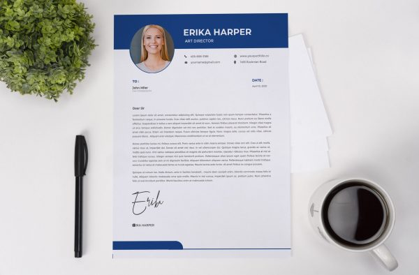 Creative Cover Letter Template
