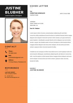 Dynamic Cover Letter template