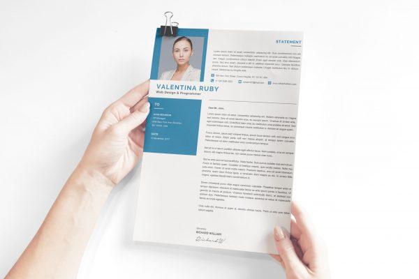 Engineer Cover Letter Design