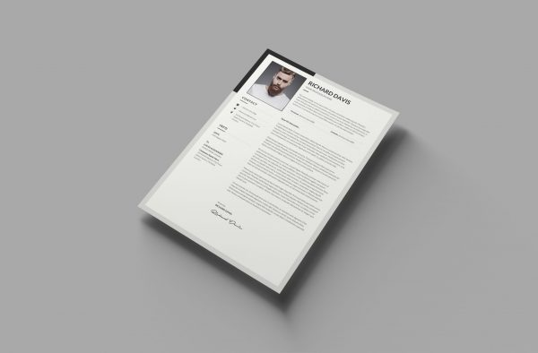 English Cover Letter Template