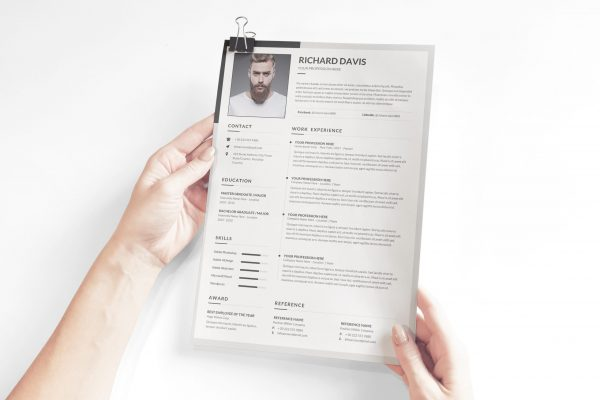 English Resume Template