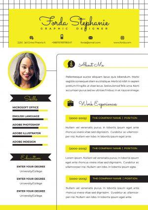 Exemple CV Personnalisable