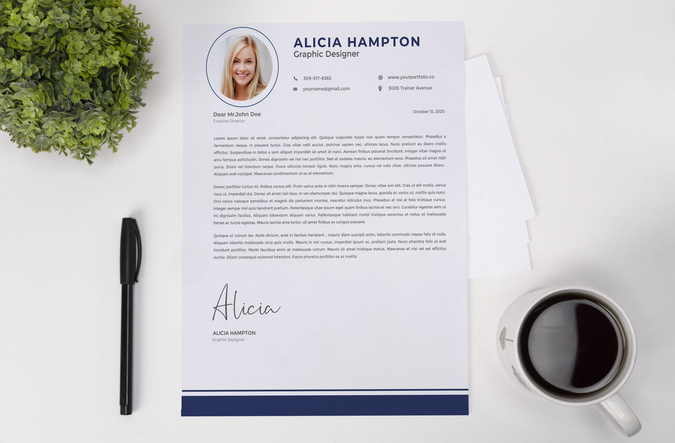 Expert Cover Letter Example