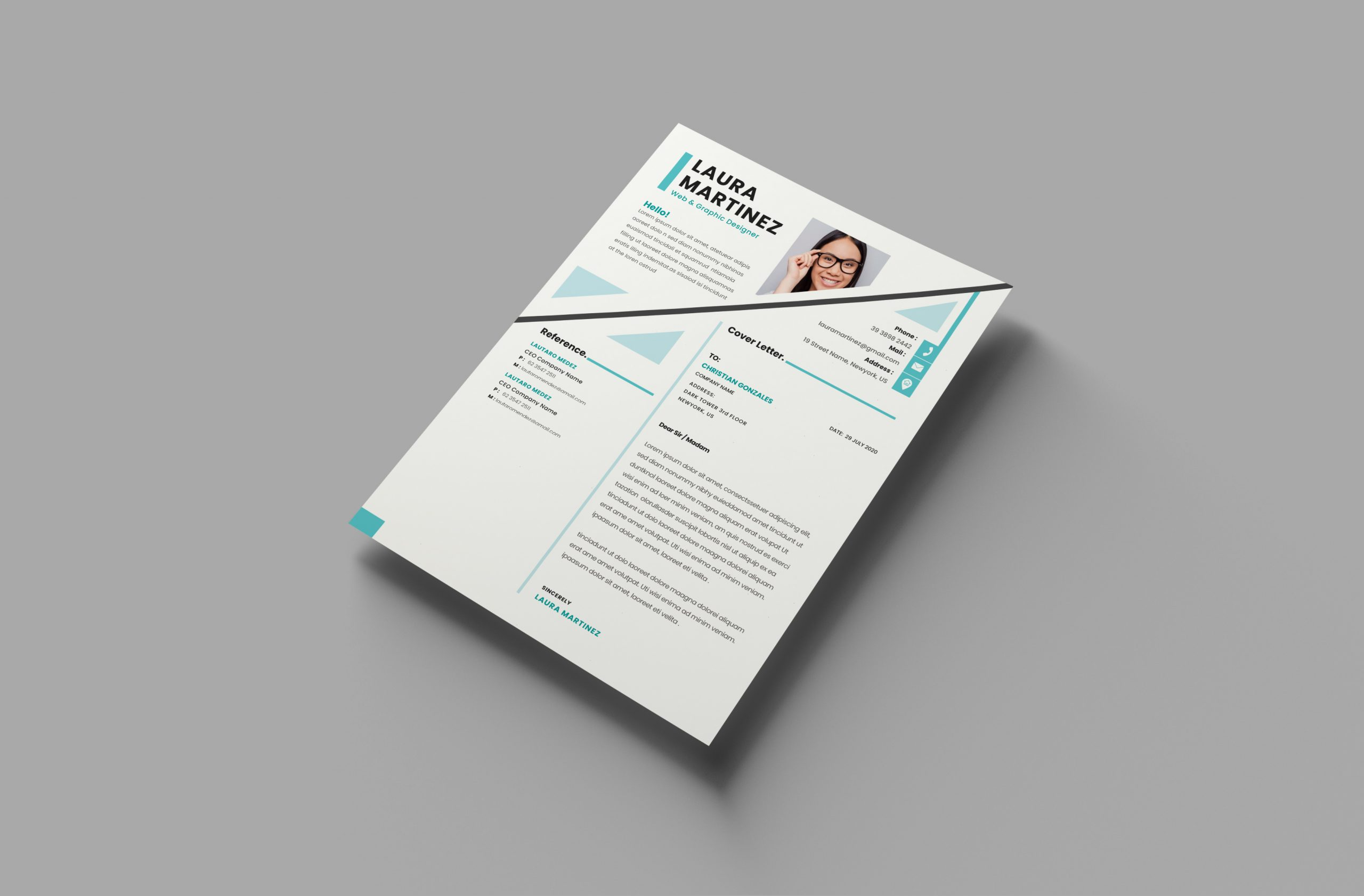 Fabulous Cover Letter Template
