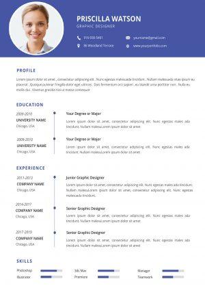 Flexible CV Template