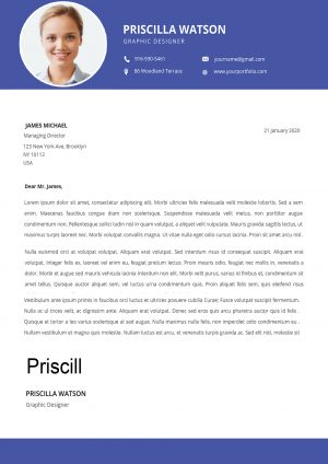 Flexible Cover Letter Template