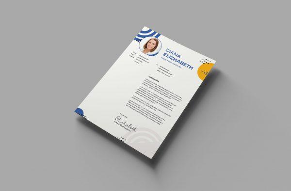 Hostess Cover Letter Design