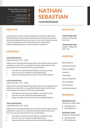 Impactful CV Template