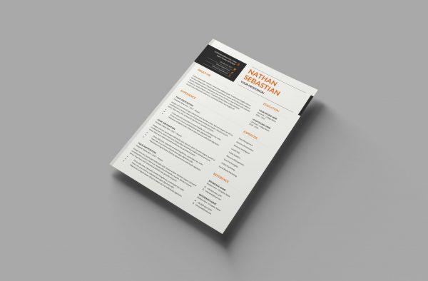 Impactful CV Template