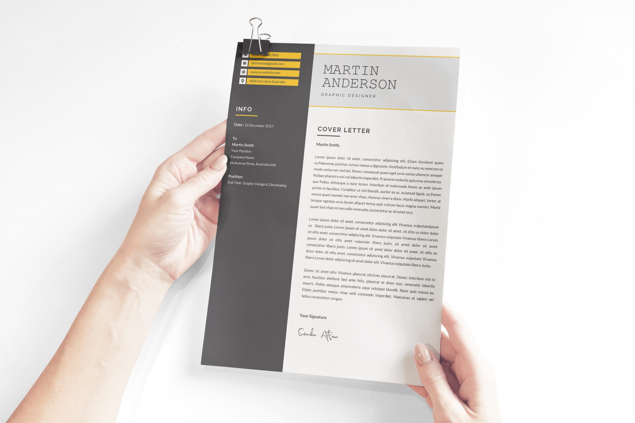 Interior Designer Cover Letter Template To Download In Word Format