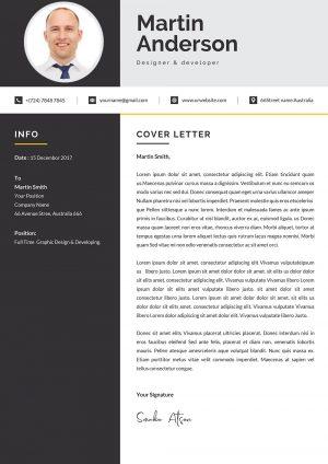 Modern Cover Letter Design