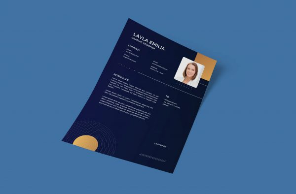 Modern Style Cover Letter Template Word