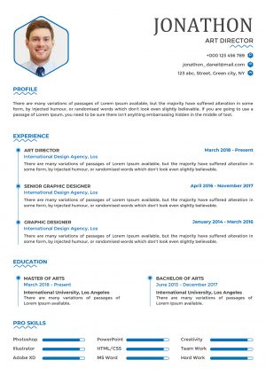 Optimized CV Template