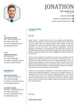 Optimized Cover Letter Template