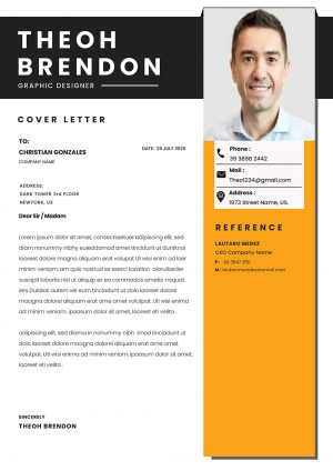 Practical Cover Letter Template