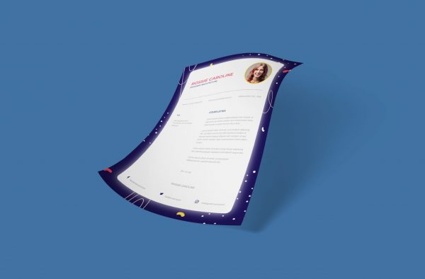 Simple Creative Cover Letter Template
