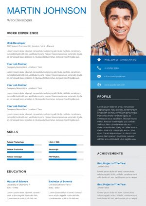 Student CV Example