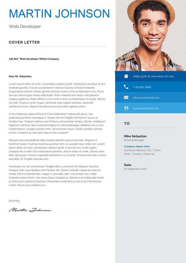 Student Cover letter Example