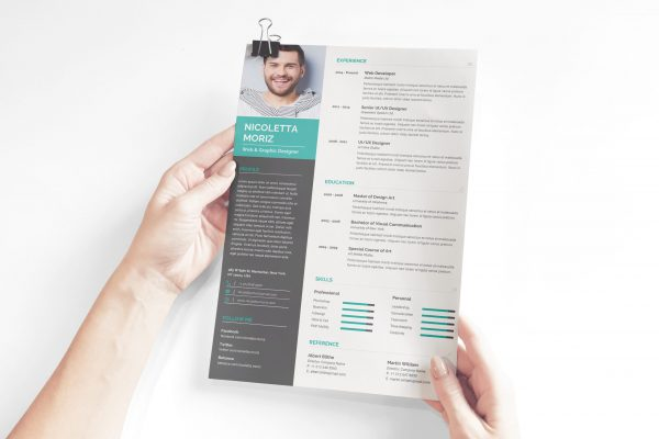 Technician CV Design