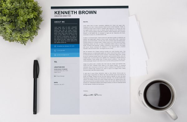 Cool Cover Letter Template