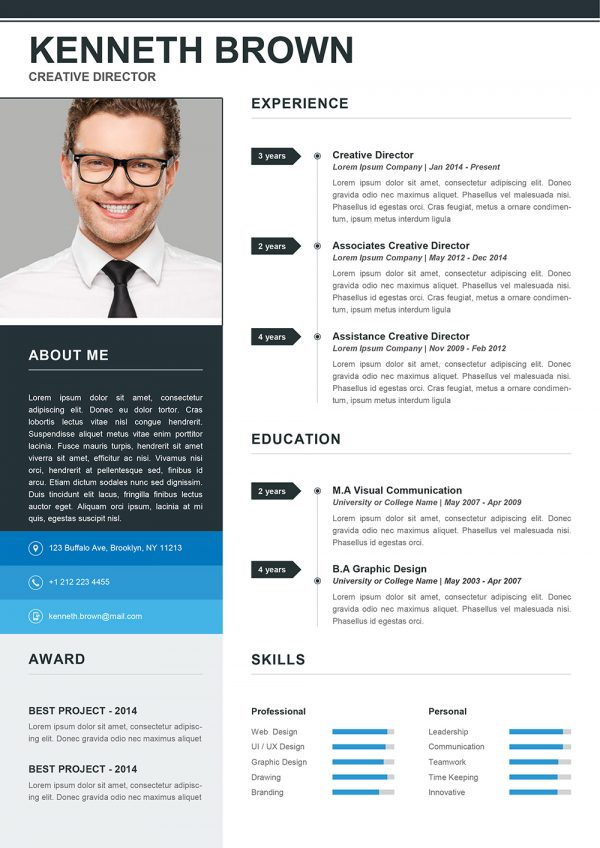 Cool Resume Template