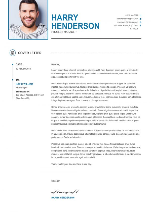 Cover Letter Formal to Download