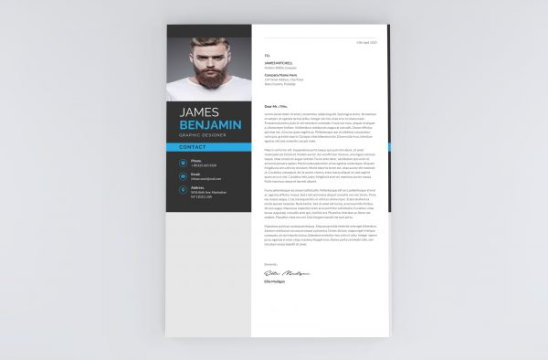 Cover Letter Template in English