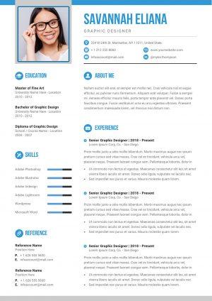Modern Resume to Download