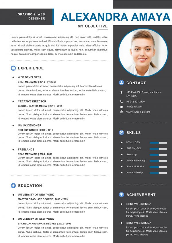 Resume Examples for a First Job