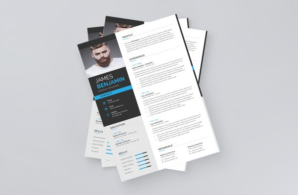 Resume template in English