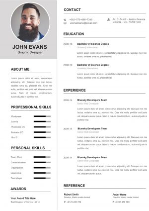 Attractive Resume Template 2021